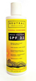 Neutral skin & hair broad spectrum mineral sunscreen