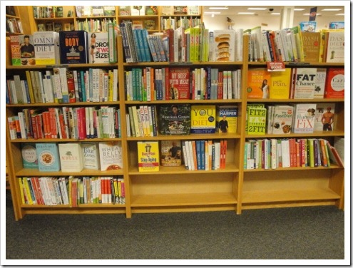 Diet and Nutrition Books in Bookstore (9) (475x356)
