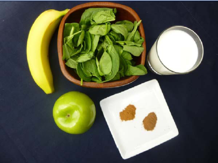 Apple Pie #Smoothie #Recipe - High Protein, No Powder