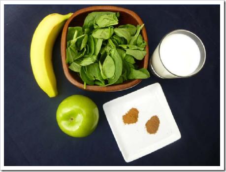 Apple Pie #Smoothie #Recipe - High Protein, No Powder