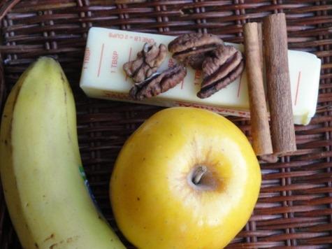Caramelized Banana-Apple Dessert Topping