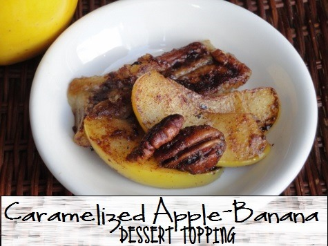 Caramelized Apple Banana Dessert Topping