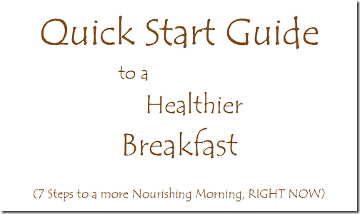Breakfast Quick Start Preview