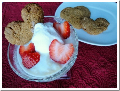 Heart-shaped Strawberry Pudding for Valentine's Day
