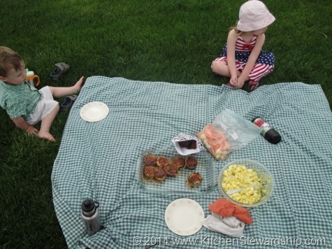 Healthy Picnic with Kids