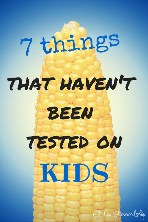 7 Foods That Haven't been Tested on Kids
