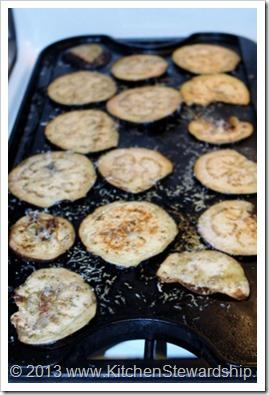 Parmesan Fried Eggplant Recipe