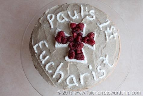 First Communion gluten-free cake