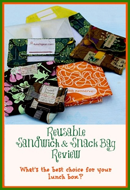 Reusable Snack and Sandwich Bag Review