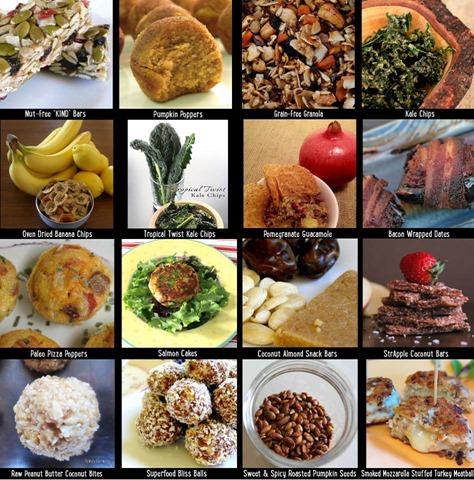 GF snacks photo montage