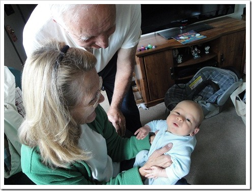 Grandma and Dzia Dzia with John