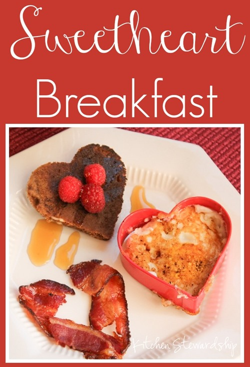Sweetheart Breakfast - Heart-Shaped Food for Valentine's Day