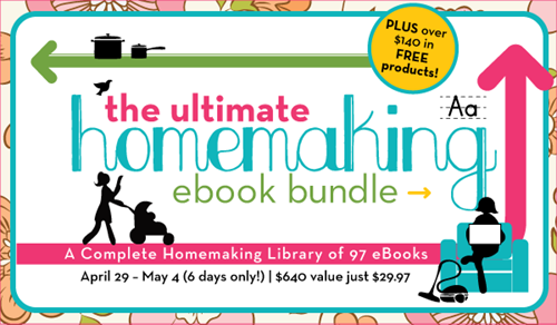 Ultimate Homemaking ebook Bundle - lg