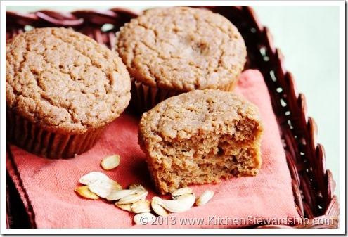 Easy Gluten-Free Allergy-free Pumpkin Muffins