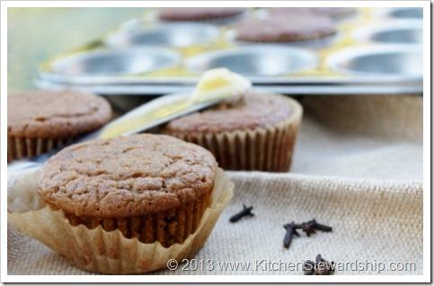 Easy Healthy Gluten-free Pumpkin Muffins
