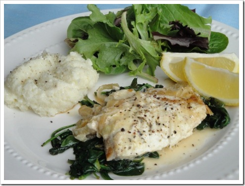 easy healthy Lenten fish recipe
