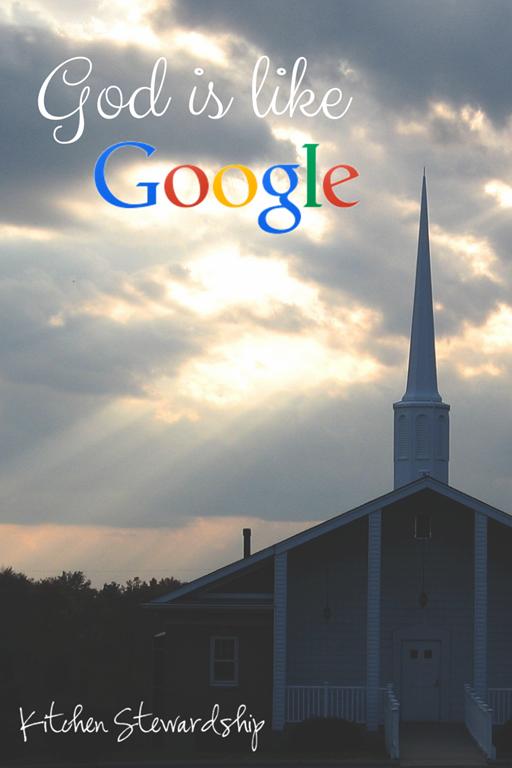 God is like Google