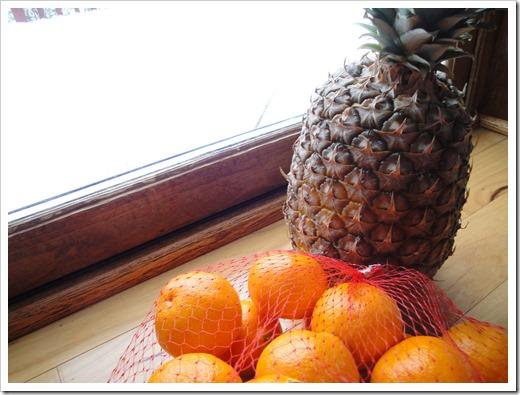 Healthy Christmas Tree Food Art - fruit version (2)