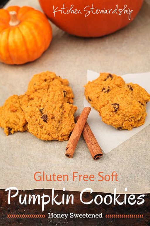 Gluten-free cookies so soft and fluffy you'll never believe they're so healthy too - less than half a TEAspoon of honey in each cookie! Kids and adults alike love them :: via Kitchen Stewardship