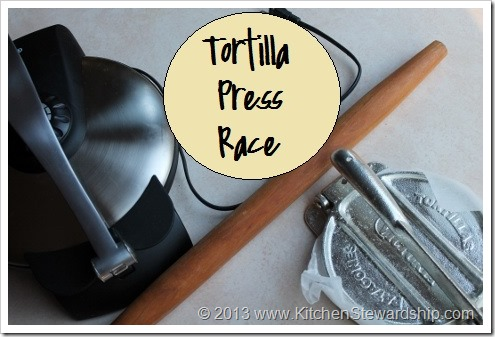 Tortilla Press Race - Manual or Machine
