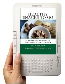 Kindle with Healthy Snacks to Go