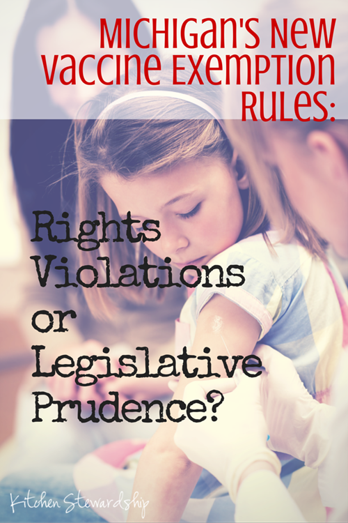 Michigan's New Vaccine Exemption Rules: Rights Violations or Legislative Prudence?