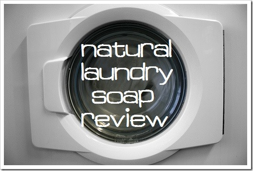 natural laundry soap review