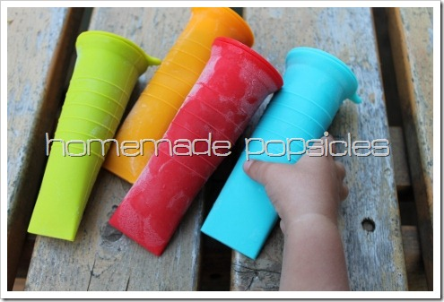 Homemade Popsicle Recipes - silicone popsicle molds