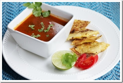 Homemade Salsa Soup