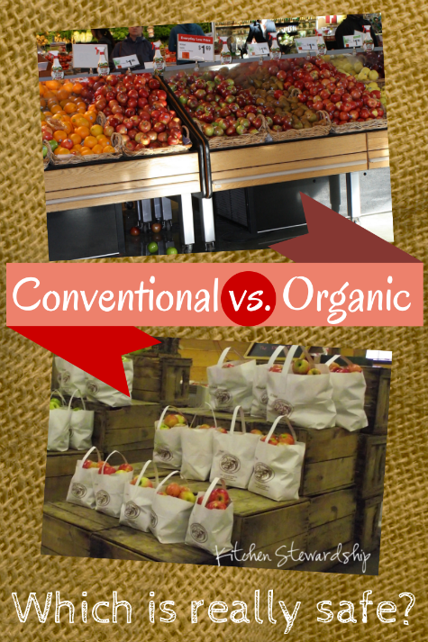 Conventional vs. Organic Foods