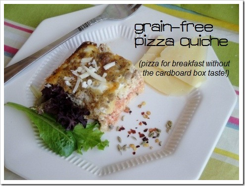 Grain-Free Pizza Quiche