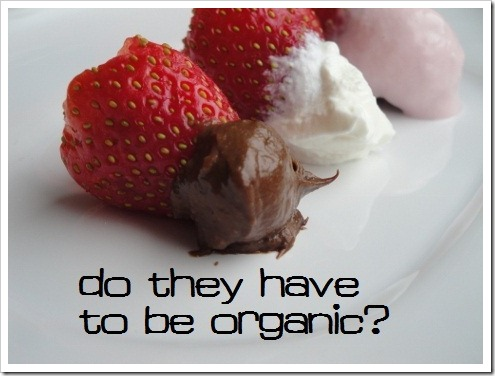 Do Strawberries have to be Organic to be Healthy