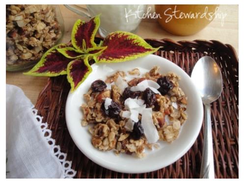 Cardamom Spiced Nutty Granola (2)