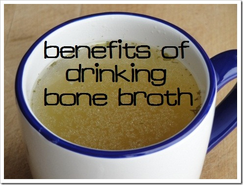 Benefits of Drinking Bone Broth daily