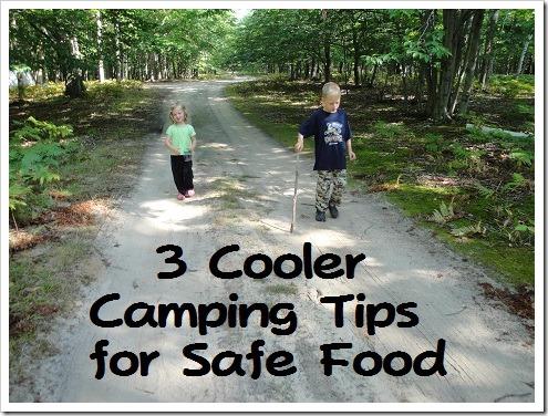 3 cooler camping tips for safe food