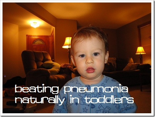 how to cure pneumonia naturally