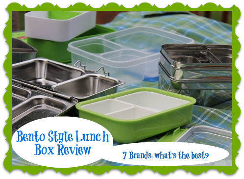 bento style lunch box review. Black Bedroom Furniture Sets. Home Design Ideas
