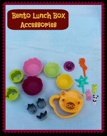 lunch box bento accessories. Black Bedroom Furniture Sets. Home Design Ideas