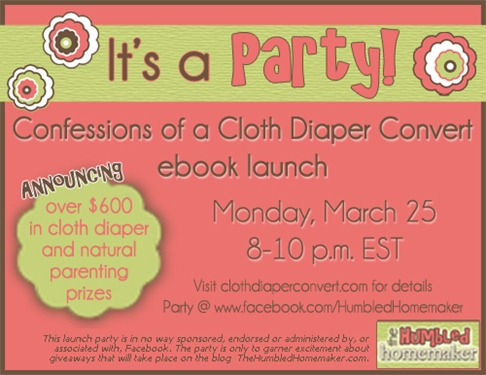 Confessions of a Cloth Diaper Convert Party