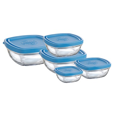 duralex glass storage containers