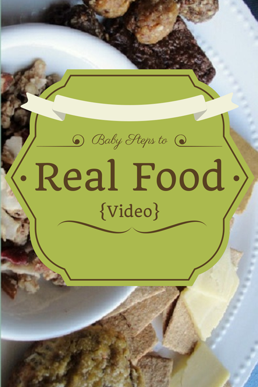 Baby Steps to Real Food video - a Google Plus Hangout replay