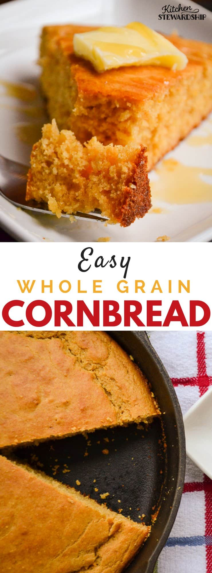 Whole Grain Cornbread