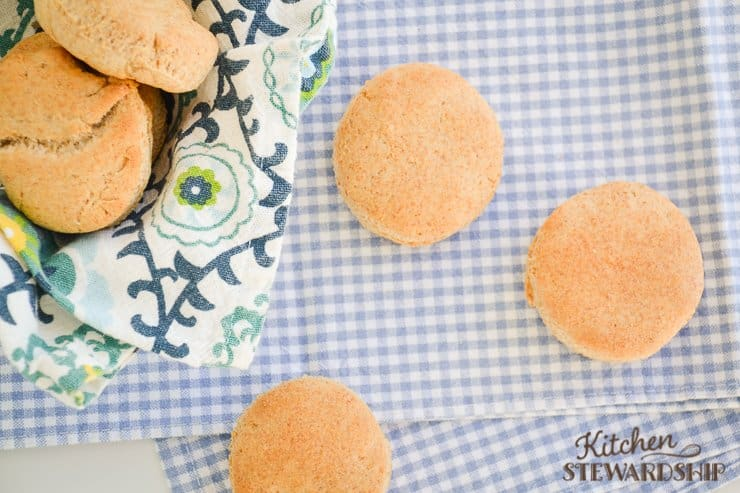 Forget biscuits in a can loaded with trans fats. These homemade biscuits are easy to make and can even be made gluten free!