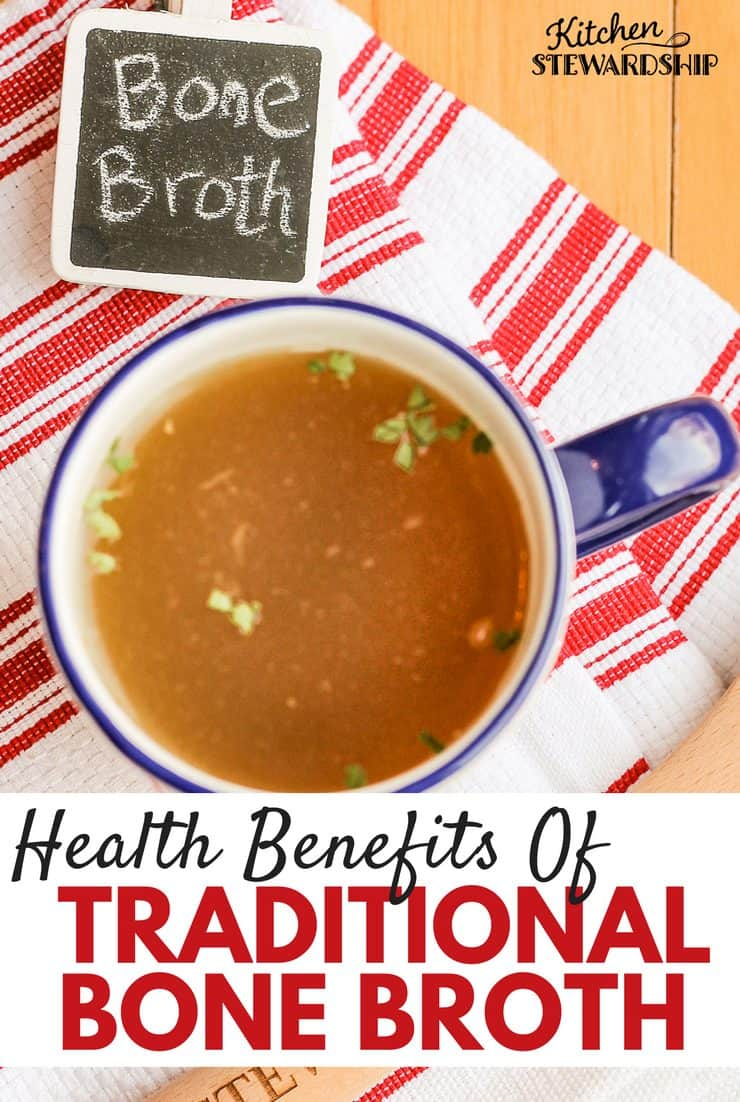 Make traditional bone broth a staple in your kitchen and reap the benefits of this traditional drink.