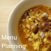 Food for Thought: Menu Planning