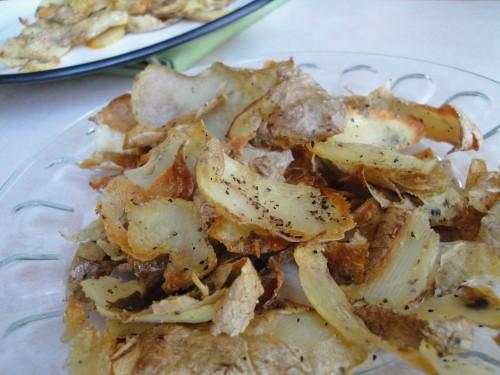 potato skin crispies