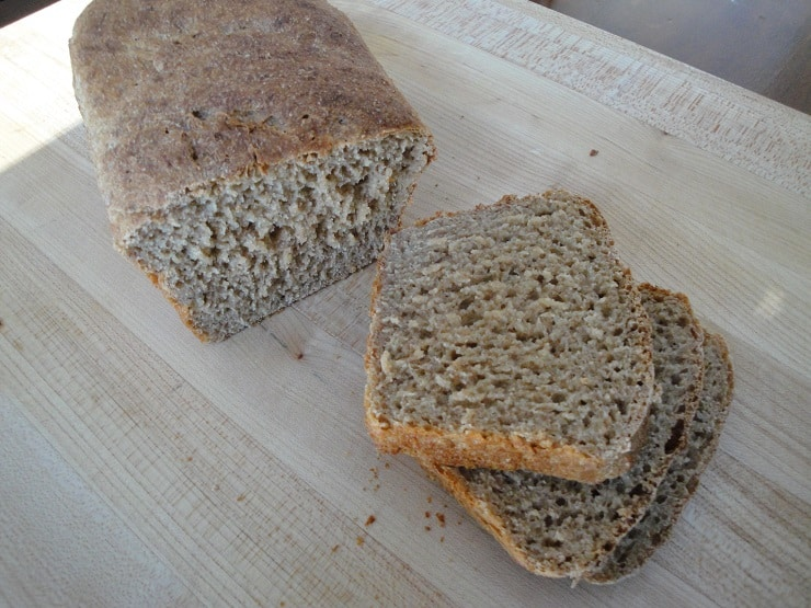 100 percent whole wheat soaked breadmaker bread recipe