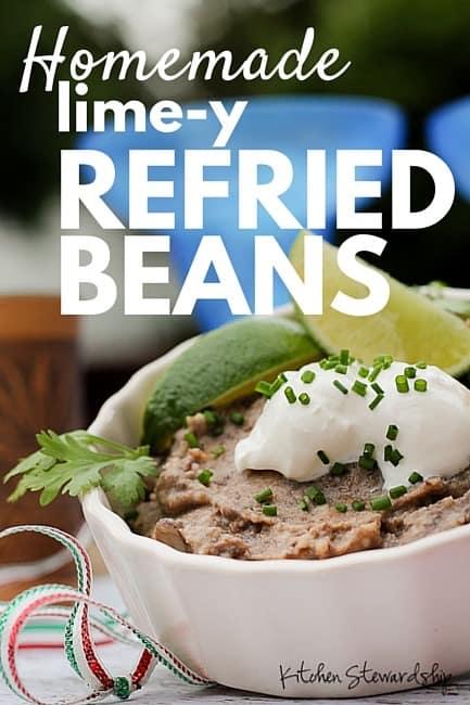 Homemade Refried Beans (2)