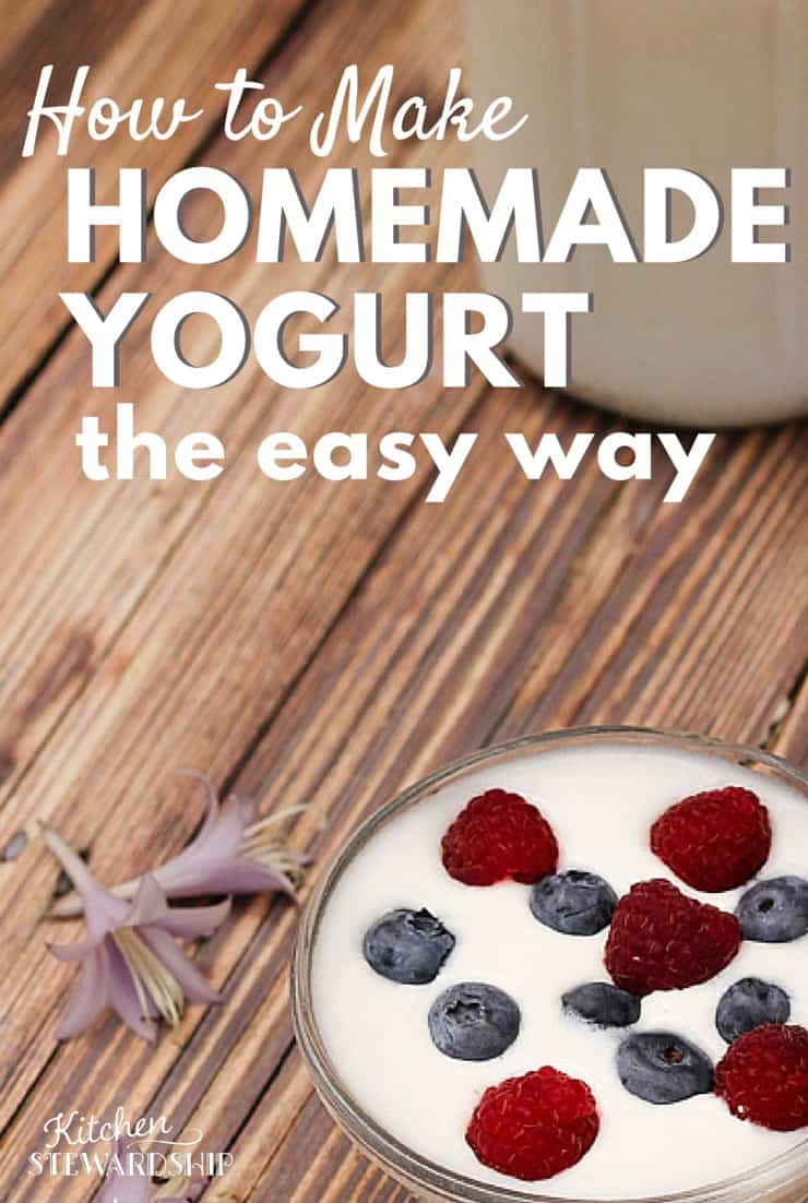 Troubleshoot runny homemade yogurt, tips for creamy yogurt, the perfect method without a yogurt maker. 24 hour yogurt too. Foolproof and no dishes!