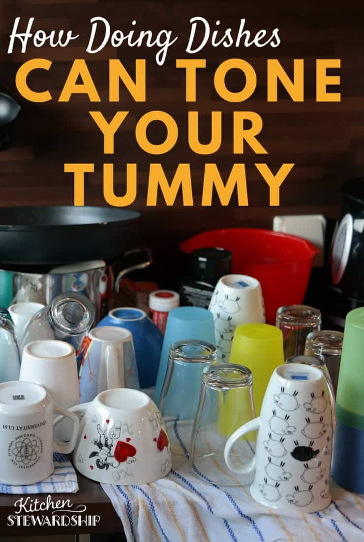 How Doing Dishes Can Tone Your Tummy 3 titles